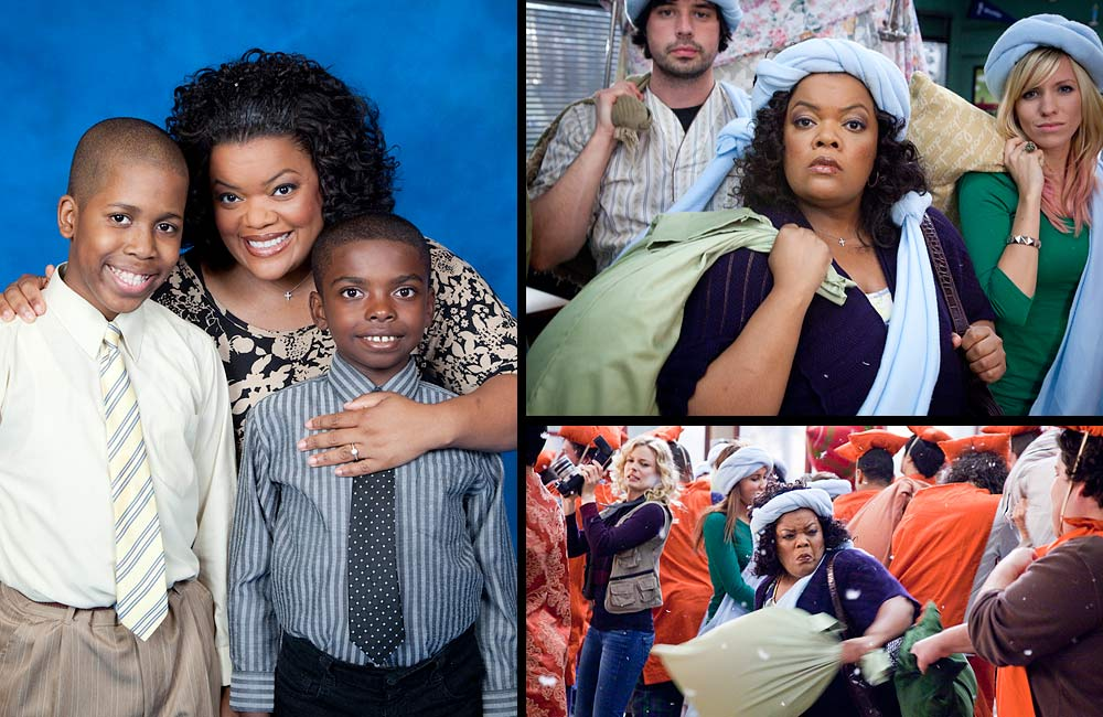 Yvette Nicole Brown as Shirley Bennett - Grove Pashley 2012